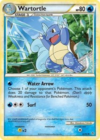 Wartortle, Pokemon, Unleashed