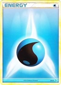 Water Energy (#4), Pokemon, HGSS Trainer Kit: Gyarados & Raichu