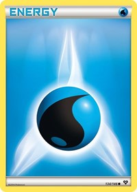 Water Energy, Pokemon, XY Base Set