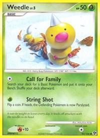 Weedle, Pokemon, Great Encounters