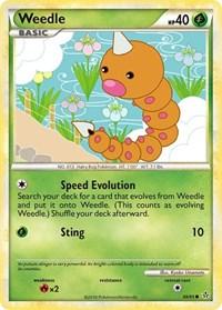 Weedle, Pokemon, Unleashed