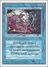 Feedback, Magic: The Gathering, Unlimited Edition
