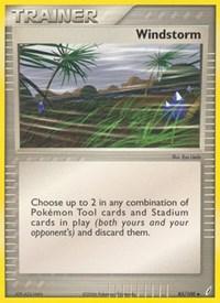 Windstorm, Pokemon, Crystal Guardians