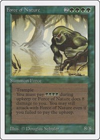 Force of Nature, Magic: The Gathering, Unlimited Edition