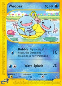 Wooper (117), Pokemon, Aquapolis