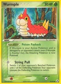 Wurmple, Pokemon, Legend Maker