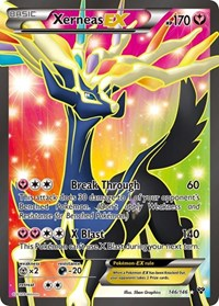 Xerneas EX (146 Full Art), Pokemon, XY Base Set