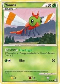 Yanma, Pokemon, Triumphant