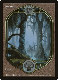 Swamp - Unglued, Magic: The Gathering, Unglued