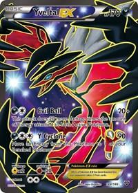 Yveltal EX (144 Full Art), Pokemon, XY Base Set