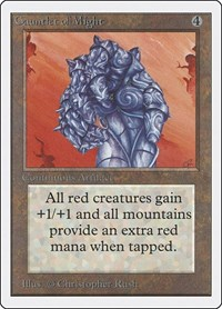 Gauntlet of Might, Magic: The Gathering, Unlimited Edition