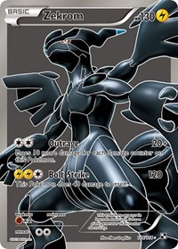 Zekrom (114 Full Art), Pokemon, Black and White