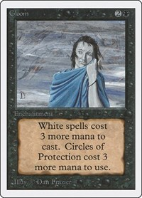 Gloom, Magic: The Gathering, Unlimited Edition