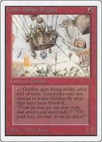 Goblin Balloon Brigade, Magic: The Gathering, Unlimited Edition