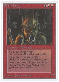 Goblin King, Magic: The Gathering, Unlimited Edition