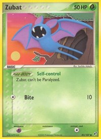 Zubat, Pokemon, Deoxys