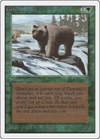 Grizzly Bears, Magic, Unlimited Edition