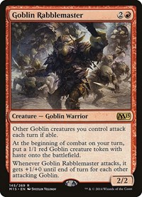 Goblin Rabblemaster, Magic: The Gathering, Magic 2015 (M15)
