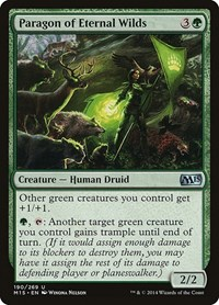 Paragon of Eternal Wilds, Magic: The Gathering, Magic 2015 (M15)