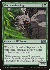 Reclamation Sage, Magic: The Gathering, Magic 2015 (M15)
