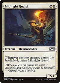 Midnight Guard, Magic: The Gathering, Magic 2015 (M15)