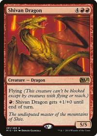 Shivan Dragon, Magic: The Gathering, Magic 2015 (M15)