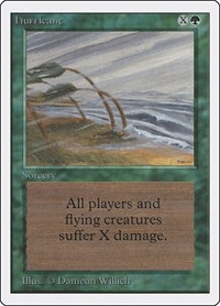 Hurricane, Magic: The Gathering, Unlimited Edition
