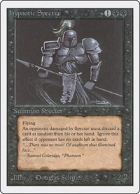 Hypnotic Specter, Magic, Unlimited Edition