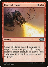 Cone of Flame, Magic: The Gathering, Magic 2015 (M15)
