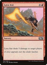 Lava Axe, Magic: The Gathering, Magic 2015 (M15)