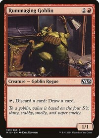 Rummaging Goblin, Magic: The Gathering, Magic 2015 (M15)
