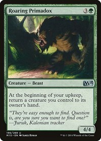 Roaring Primadox, Magic: The Gathering, Magic 2015 (M15)