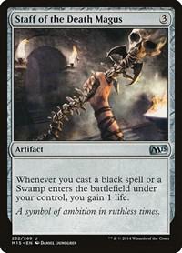 Staff of the Death Magus, Magic, Magic 2015 (M15)