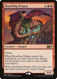 Hoarding Dragon, Magic: The Gathering, Magic 2015 (M15)
