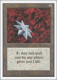 Iron Star, Magic: The Gathering, Unlimited Edition