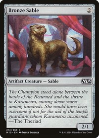 Bronze Sable, Magic, Magic 2015 (M15)