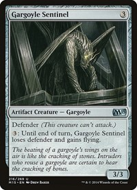Gargoyle Sentinel, Magic: The Gathering, Magic 2015 (M15)