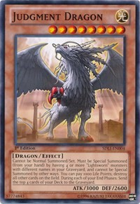 Judgment Dragon, YuGiOh, Structure Deck: Realm of Light