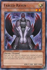 Fabled Raven, YuGiOh, Structure Deck: Realm of Light