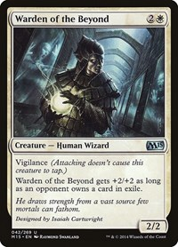 Warden of the Beyond, Magic, Magic 2015 (M15)
