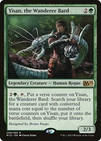Yisan, the Wanderer Bard, Magic, Magic 2015 (M15)