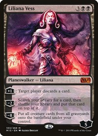 Liliana Vess, Magic: The Gathering, Magic 2015 (M15)