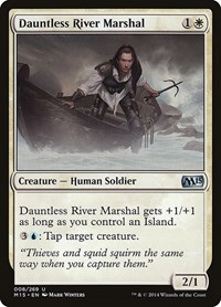 Dauntless River Marshal, Magic, Magic 2015 (M15)
