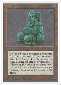 Jade Statue, Magic: The Gathering, Unlimited Edition