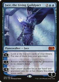 Jace, the Living Guildpact, Magic: The Gathering, Magic 2015 (M15)
