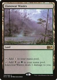 Llanowar Wastes, Magic: The Gathering, Magic 2015 (M15)