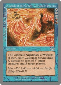 The Ultimate Nightmare of Wizards of the Coast Customer Service, Magic, Unglued