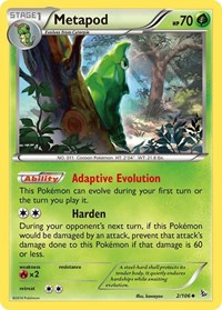 Metapod, Pokemon, XY - Flashfire