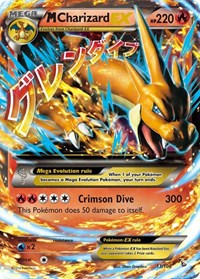 M Charizard EX (Y), Pokemon, XY - Flashfire