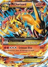 M Charizard EX (Y), Pokemon, XY - Flashfire